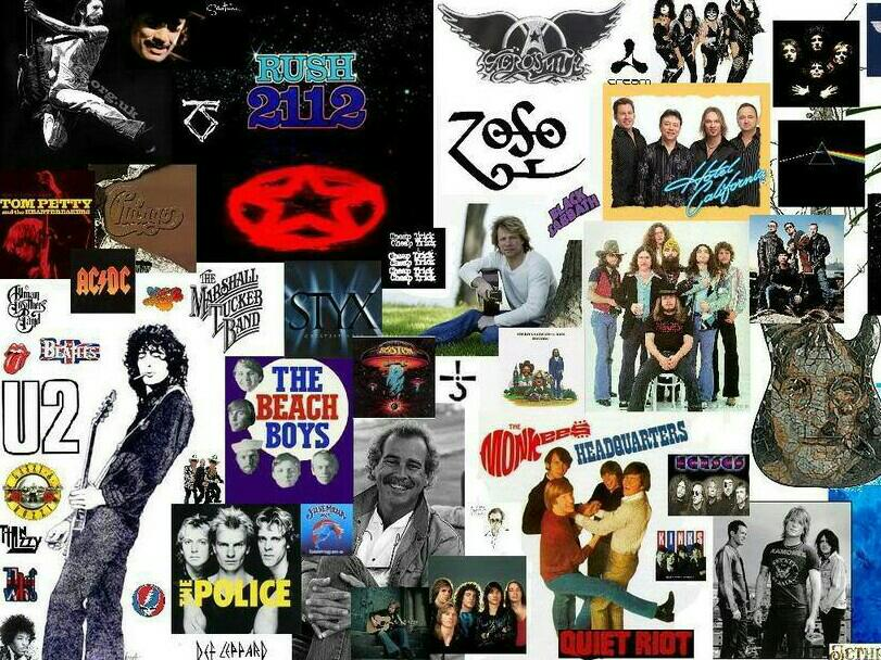 627 Best Music Collage images in 2016  Classic rock