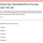 Critical Ops: Reloaded Short Survey