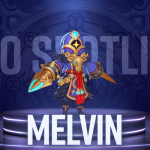 """Hero Spotlight: Melvin - """"Emptiness will lead us to the new world!""""   Along with the Gods: Knights of the Dawn"""